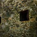 Vintage Stone Wall In Radnor  Pa by Heinz G Mielke