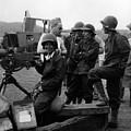 Wacs Learning Fire Machine Gun Circa 1943 Black by Mark Goebel