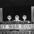 War Bond Rally Buy Bonds February 1944 Black by Mark Goebel