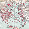 Map: Ancient Greece by Granger