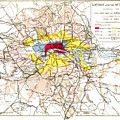 Map Of London, 1881 by Granger