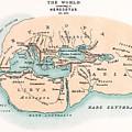World Map by Granger