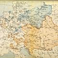 Austrian Empire Map, 1795 by Granger