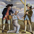 Tarring & Feathering, 1774 by Granger