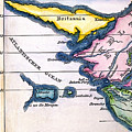 Atlantis: Map, 1831 by Granger