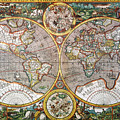 World Map, 1607 by Granger