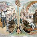 Business Cartoon, 1904 by Granger