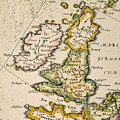 Map Of Great Britain, 1623 by Granger
