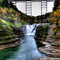 0032 Letchworth State Park Series  by Michael Frank Jr