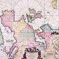 Map: European Coasts, 1715 by Granger