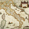 Map Of Italy, 1631 by Granger