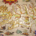 Iceland: Map, 1595 by Granger
