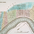 New Orleans Map, 1837 by Granger