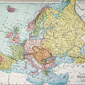 Map: Europe, 1885 by Granger