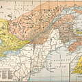 Map: Eastern Canada by Granger