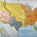 U.s. Map, 1776/1884 by Granger