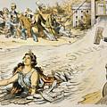 Free Silver Cartoon, 1890 by Granger