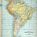 South America: Map, C1890 by Granger