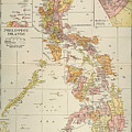 Map: Philippines, 1905 by Granger