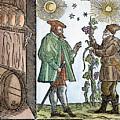 Wine Merchant, 1582 by Granger
