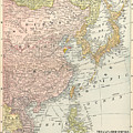 Map: East Asia, 1907 by Granger
