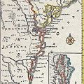 Map: North America, C1700 by Granger