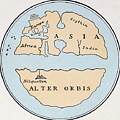 World Map, 1st Century by Granger