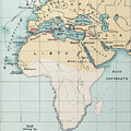 Map: Phoenician Empire by Granger