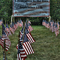 010 Flags For Fallen Soldiers Of Sep 11 by Michael Frank Jr