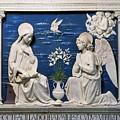 Della Robbia: Annunciation by Granger