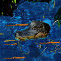 04142015 Gator Hole by Garland Oldham