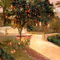Garden Alcazar Seville by Joaquin Sorolla
