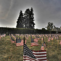 05 Flags For Fallen Soldiers Of Sep 11 by Michael Frank Jr