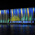 06 Grain Elevators Light Show 2015 by Michael Frank Jr