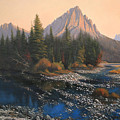 080414-4030 September Evening On Horse Thief Creek by Kenneth Shanika