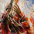 087 Marines Memorial Hands by Mahnoor Shah
