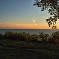 0874- Lake Michigan Sunset by David Lange