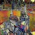 Church - My Www Vikinek-art.com by Viktor Lebeda