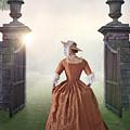 18th Century Georgian Woman  by Lee Avison