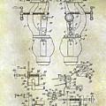 1902 Watchmakers Lathes Patent by Jon Neidert