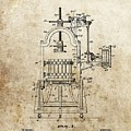 1903 Wine Press Patent by Dan Sproul