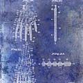 1911 Mechanical Skeleton Patent Blue by Jon Neidert