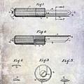 1920 Paring Knife Patent by Jon Neidert