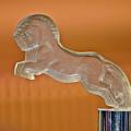 1925 Citroen Cloverleaf Hood Ornament 2 by Jill Reger