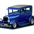 1928 Ford Tudor Sedan I by Dave Koontz