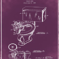 1936 Toilet Bowl Patent Chalk by Bill Cannon