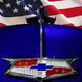 1954 Chevrolet Hood Emblem by Peter Piatt