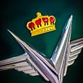 1954 Chrysler Imperial Sedan Hood Ornament by Jill Reger