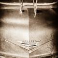1956 Cadillac Eldorado Biarritz Convertible Hood Ornament - Emblem by Jill Reger