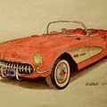 1957 Corvette by Ed Estrada
